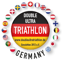 Double Ultra Triathlon Emsdetten Retina Logo